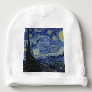 Vincent van Gogh - sternenklare Nacht. Babymütze