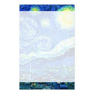 Vincent van Gogh sternenklare Nacht Briefpapier
