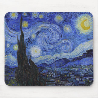 "Vincent van Gogh ""sternenklare Nacht"" Mousepad"