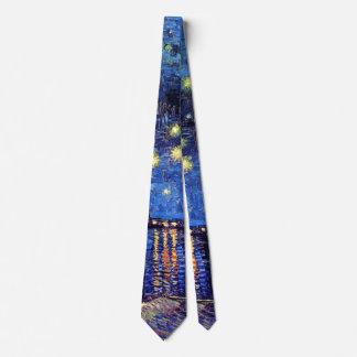 Vincent van Gogh - sternenklare Nacht über der Krawatte