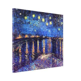 Vincent van Gogh - sternenklare Nacht über der Leinwanddruck