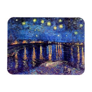 Vincent van Gogh - sternenklare Nacht über der Magnet