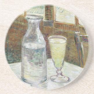 Vincent van Gogh-Stillleben mit Wermut-schöner Sandstein Untersetzer