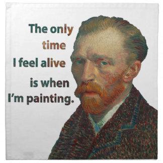 Vincent van Gogh Stoffserviette