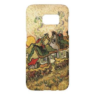 Vincent van Gogh-Thatched Cottages bei Cordeville