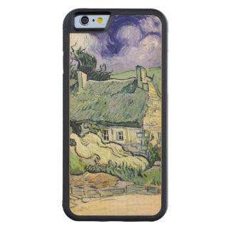Vincent van Gogh | Thatched Hütten bei Cordeville Bumper iPhone 6 Hülle Ahorn