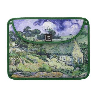 Vincent van Gogh | Thatched Hütten bei Cordeville Sleeve Für MacBook Pro