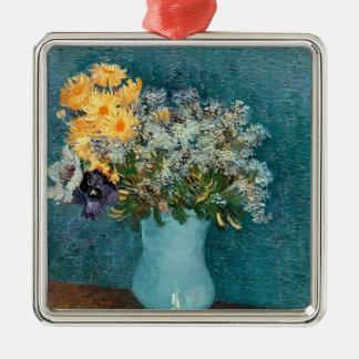 Vincent van Gogh | Vase Blumen, 1887 Silbernes Ornament