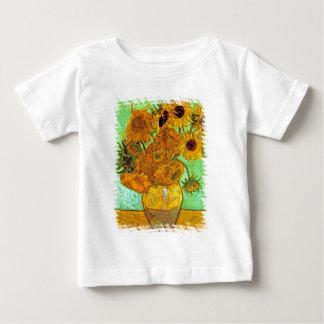 Vincent van Gogh - Vase mit zwölf Sonnenblumen Baby T-shirt