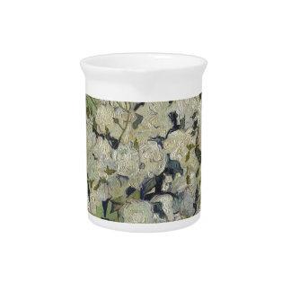 Vincent van Gogh Vase Rosen, die Blumenkunst malen Getränke Pitcher