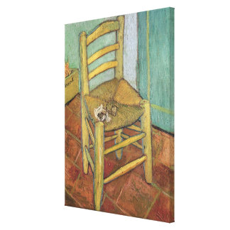 Vincent van Gogh   Vincents Stuhl, 1888 Leinwanddruck