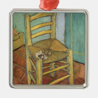 Vincent van Gogh | Vincents Stuhl, 1888 Silbernes Ornament