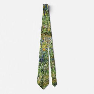 Vincent van Gogh - Weide in der Blüten-schönen Personalisierte Krawatten