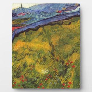 Vincent van Gogh-Weizen-Feld mit aufgehende Sonne Fotoplatte