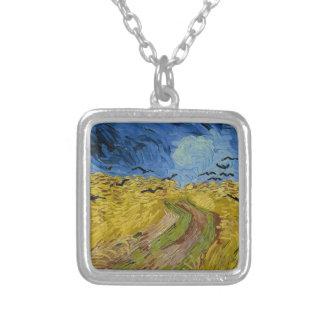 Vincent van Gogh - Weizen-Feld mit dem Versilberte Kette