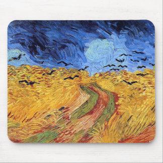 Vincent van Gogh - Weizen-Feld mit schwarzen Mauspads