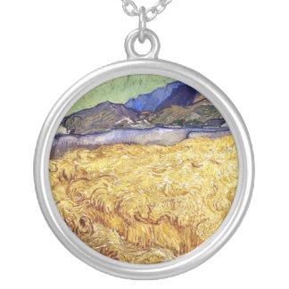 Vincent van Gogh - Weizen-Feld mit Sensenmann u. Versilberte Kette