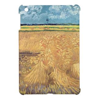 Vincent van Gogh   Wheatfield mit Garben, 1888 iPad Mini Hülle