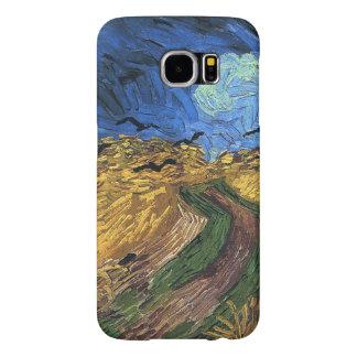 Vincent van Gogh-Wheatfield mit Krähen