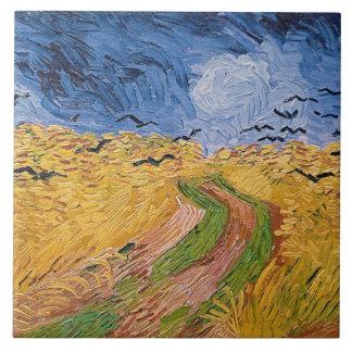 Vincent van Gogh | Wheatfield mit Krähen, 1890 Fliese