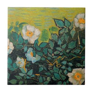 Vincent van Gogh wilde Rosen-Vintage Blumenkunst Keramikfliese