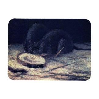 Vincent van Gogh - zwei Ratten - Magnet