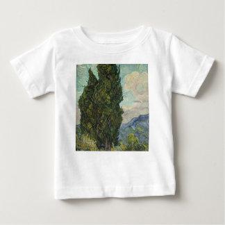 Vincent van Gogh - Zypressen-Malen Baby T-shirt