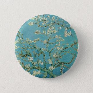 Vincent van Goghs Mandel-Blüten Runder Button 5,1 Cm