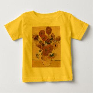 Vincent van Goghs Sonnenblumen, 1878 Baby T-shirt