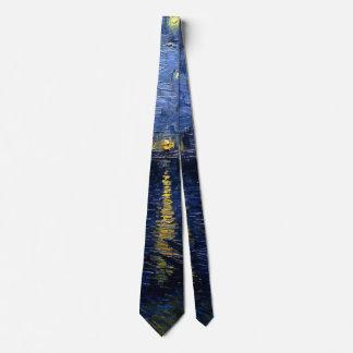 Vincent van Goghs sternenklare Nacht über der Krawatte