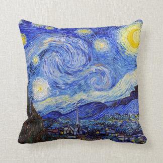 "Vincent Willem van Gogh , "" Starry Night "" Kissen"
