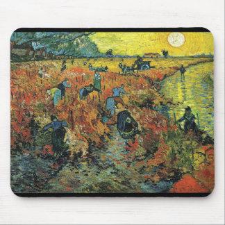Vincent Willem van Gogh, The Red Vineyard Mousepad