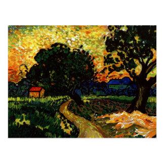 Vincents Kabine Postkarte