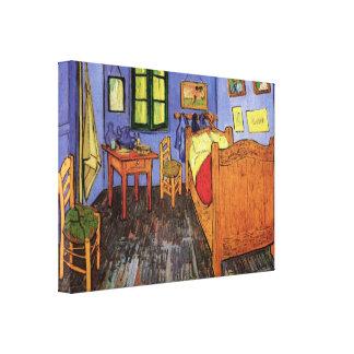 Vincents Schlafzimmer in Arles durch Vincent van Leinwanddruck