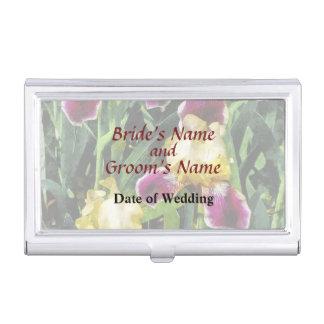Vingolf Irises Hochzeits-Produkte Visitenkarten Etui
