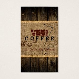 Vinh Kaffeestube-Musik Visitenkarte
