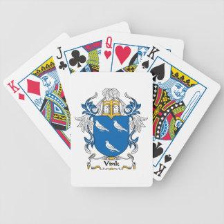 Vink Familienwappen Poker Karten