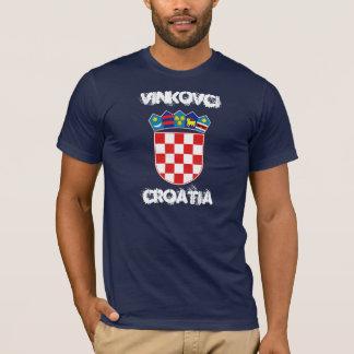 Vinkovci, Kroatien mit Wappen T-Shirt