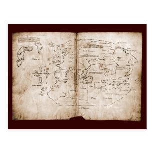 Vinland Karte Poster Zazzle De