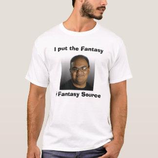 Vinnie Iyer Fantasie-Quelle T-Shirt