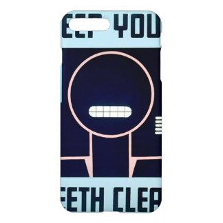 Vintag behalten Sie Ihre Zähne sauberes FAP iPhone 8 Plus/7 Plus Hülle