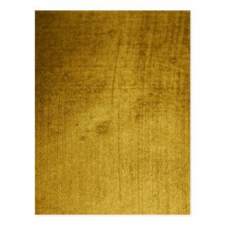 Vintag-Blick Gold benutzt Postkarte