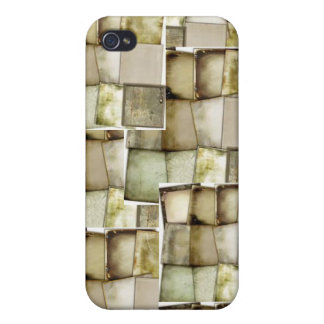 Vintag durch gereizte Couturen iPhone 4/4S Cover
