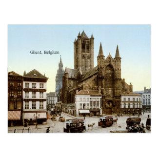 Vintag - Gent, Belgien Postkarte