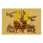 Vintag lassen Sie mich Wine neu herausgegebenes Pl