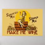 Vintag lassen Sie mich Wine neu herausgegebenes Pl Plakatdrucke