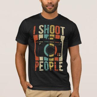 Vintag schieße ich Leute-Fotografen T-Shirt