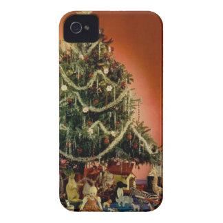 Vintag: Weihnachten - iPhone 4 Etuis