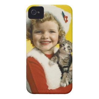 Vintag: Weihnachten - iPhone 4 Hüllen