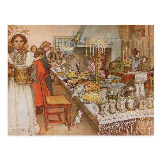 Vintag: Weihnachten - Postkarte